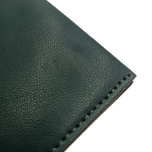 Cheap Pure Leather Passport Travel Wallet