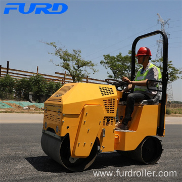 Compact Design 800kg Small Vibratory Compactor Roller