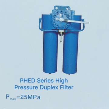 PHED Series High Pressure Duplex Filters