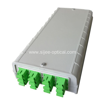 FTTH Fiber Optic Termination Box 12 Ports