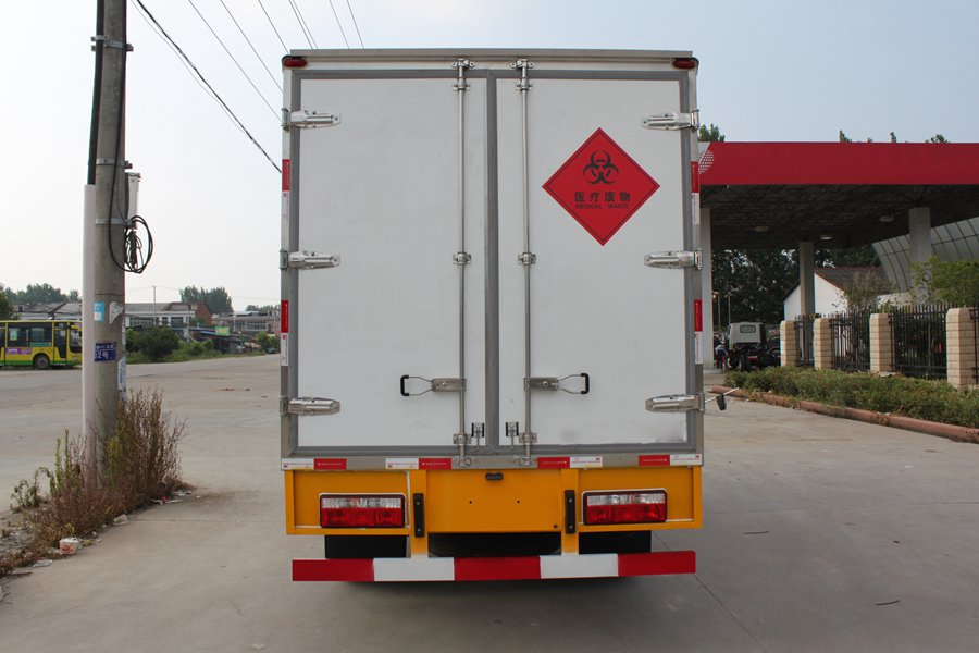 Medical waste transport vehicle 4