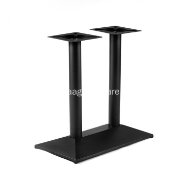 28'' Counter high top metal bar table base
