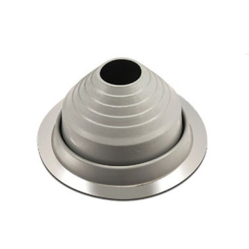 Soft rubber roof flashing for pipe penetration piece