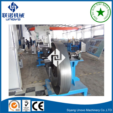 Galvanized perforated slotted c steel profiled channel machine