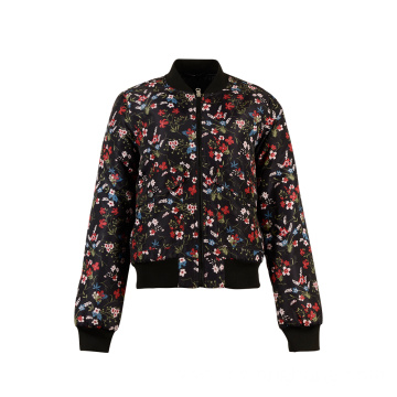 Custom Print Padded Down Puffer Women's Jacket