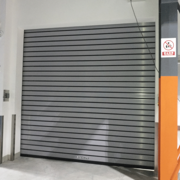 Quick action aluminum alloy roller shutter