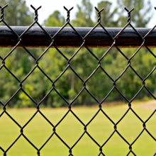 HotDipped Galvanized PVC Diamond Chain Link Fence