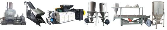 LINA Rubber & Plastic Pelletizing Production Line