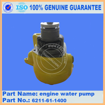 6D140 engine water pump 6211-61-1400/6211-61-1402