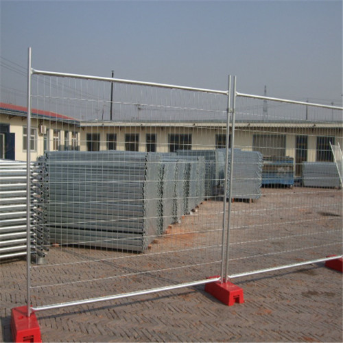 Canada Construction Hot Dipped Galvanized Temporary Fencing