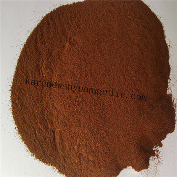 Powder shape black garlic powder