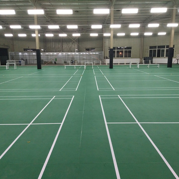Good quality PVC sports flooring for Badminton court