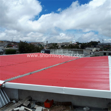 Fire Resistant Glazed Magnesium Oxide Roofing Sheet