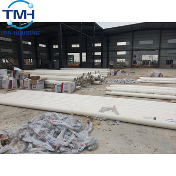 High Quality Double Slope Warehouse Steel Workshop