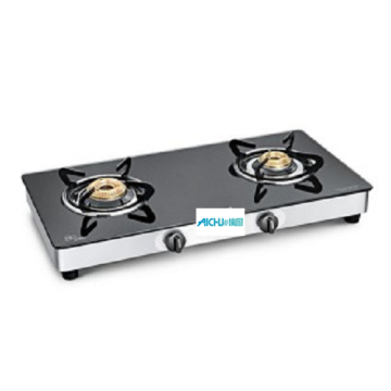 Crown 2 Burner Toughened Glass Cooktop