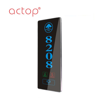 Shenzhen Actop  remote Control Wired hotel Smart door plate