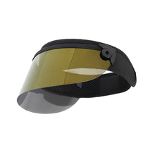 Uv protection PC visor face shield visor hat