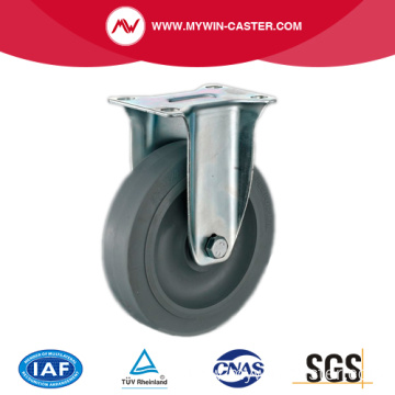 4'' Fixed Medium Industrial TPR Caster With PP Core
