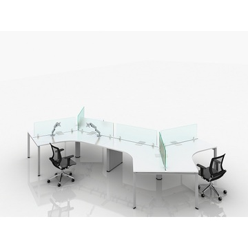 Wooden Standard executive office table size
