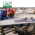 Outdoor Floor Support Adjustable Plastic Pedetal