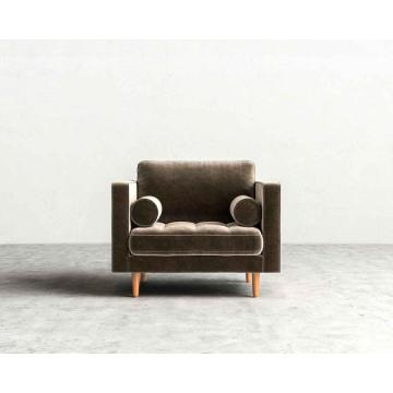 Sven Cascadia Luca wood base armchair
