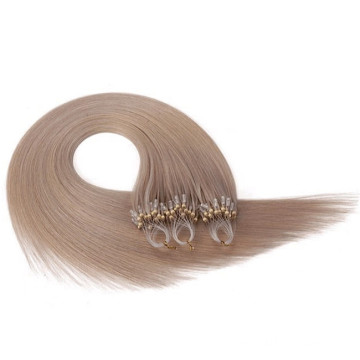 Micro Ring Beads Tipped Human Hair Extensions
