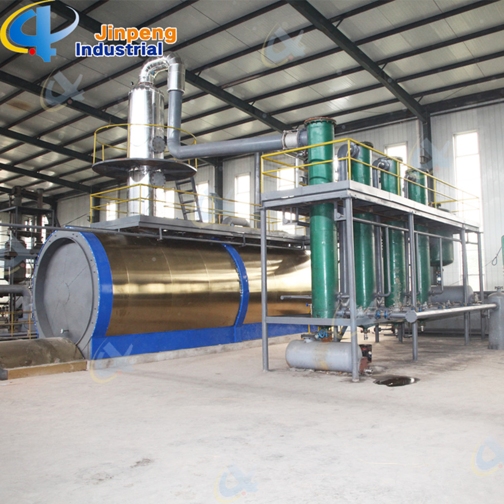 Normal Pressure Waste Plastic Oil Refinery Machine