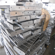hot dip galvanized steel grating stair treads