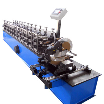 ZT90 Steel slat door roll forming machine
