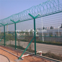 Beautiful Airport Fence-Welded Wire Mesh Fence