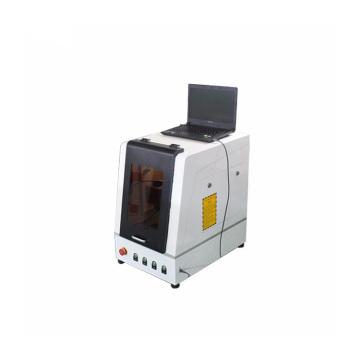 Mini Enclosed laser CNC Brass Plates Engraving Machine
