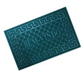Wholesale low MOQ embossed coil door mat