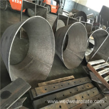 seamless steel chrome carbide overlay pipe