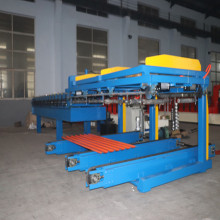 Automatic metal roof sheet stacker