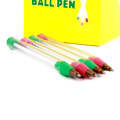 Glass Ball Tube Pen 4 Inches In set