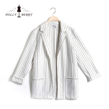 Ladies Suits Different Models of Vertical Striped Streetwear