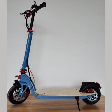 Custom Folded Blue Maple Adult Electric Scooter