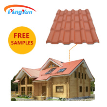 Villa Spanish Style Synthetic Resin Roof Tile