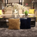 Factory price lamb wool fur lambskin cushion