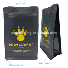 Good looking eight sides sealing food packaging bag