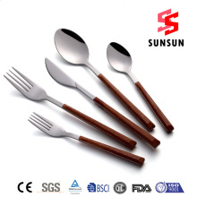 18/8 Plastic Handle Stainless Steel Cutlery