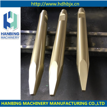 Chisel for Hydraulic Rock Breaker and Hammer Drills