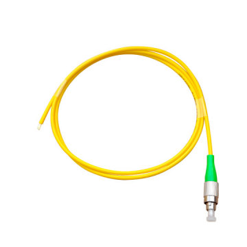 FC APC 3.0mm OS2 Simplex Fiber Optic Pigtail