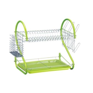 """8"" shaped tube dish rack"