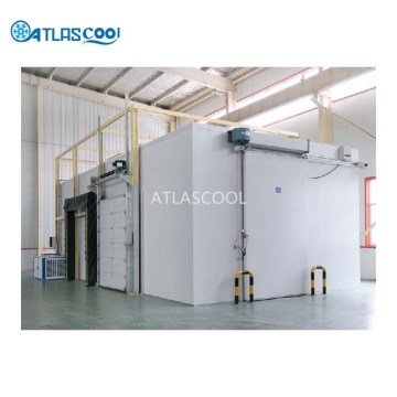 Frozen meat low temperature refrigerated blast freezer