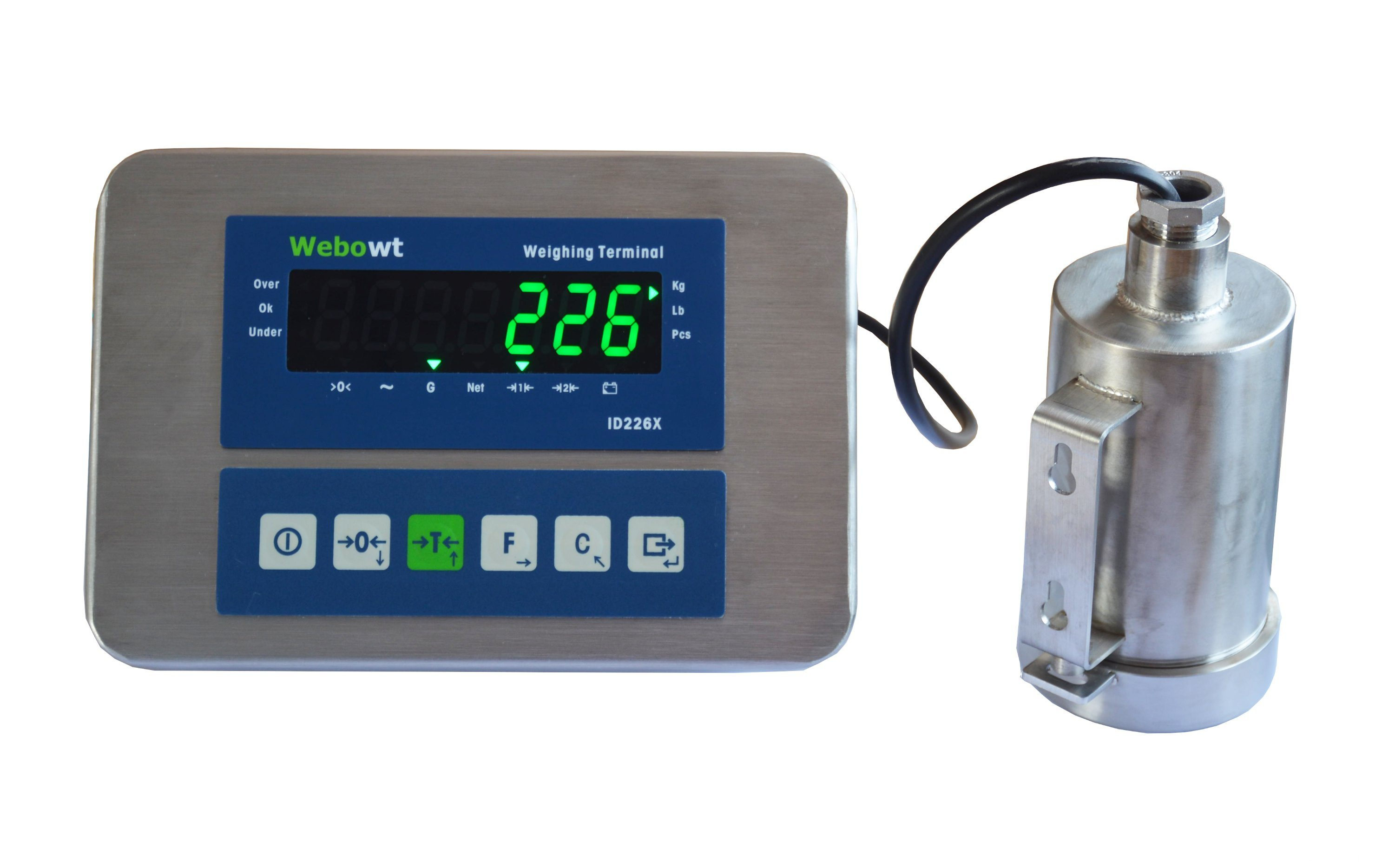 Electronic Scale Weighing Indicator Stainless Steel