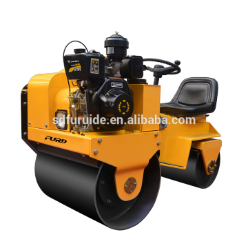 Small road roller machine with CE certification