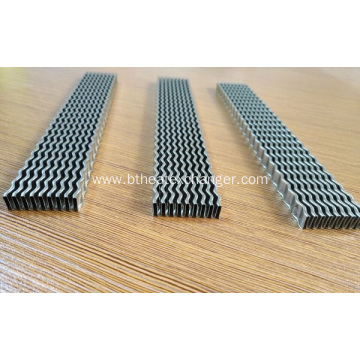 Stainless Steel Wavy Fins