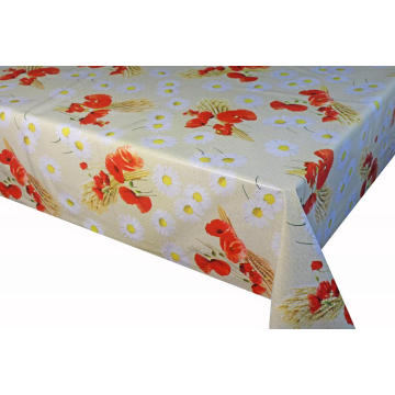 Elegant Tablecloth with Non woven backing Micron