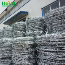 Low Price Galvanized Barbed Wire Fence